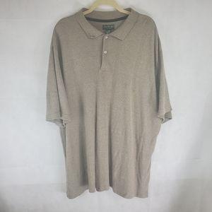 David Taylor 2XLT 60% Cotton Short Sleeve Polo